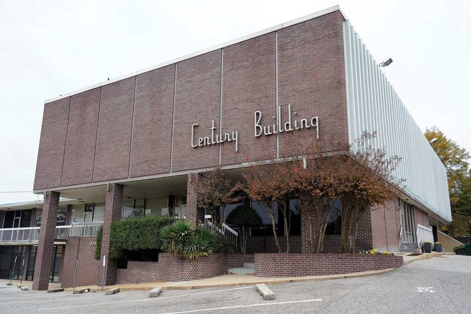 <strong>A car wash company proposes to demolish the 58-year-old Century Building at 3294 Poplar.</strong> (Tom Bailey/Daily Memphian)