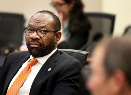 <strong>Michael Ugwueke, president and CEO of Methodist Le Bonheur Healthcare, has announced some <span>furloughs&nbsp;</span>and a reduction in salaries due to lost revenue because of coronavirus.</strong> (Jim Weber/Daily Memphian file)