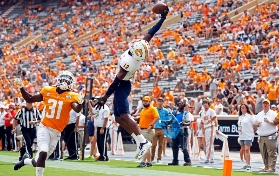<strong>&ldquo;You're not going to have spectators at Neyland Stadium this year,&rdquo;&nbsp; said Dr. Jon McCullers. The Knoxville stadium was full of fans in September 2019 when Chattanooga played UT Knoxville.</strong> (Wade Payne/AP file)