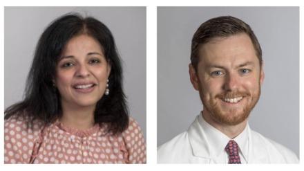 <strong>Dr. Bindiya Bagga and Dr. Jason Yaun</strong>
