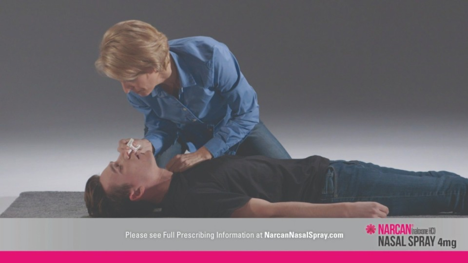 <strong>A 2018 file photo shows how Narcan is administered.</strong> (Submitted)