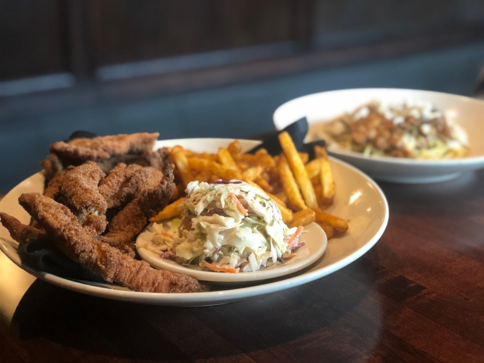 <strong>Catfish used to be a daily special on Fridays at Amerigo; now it's on the temporary menu.</strong> (Jennifer Bigg/Daily Memphian)