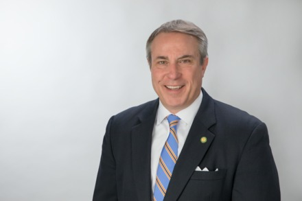 """<strong>All eight&nbsp;(Memphis, Shelby County and six suburban) mayors were focused on establishing a balance between public health and commerce,"""" said Germantown Mayor Mike Palazzolo, seen here in 2017.&nbsp;</strong>(Daily Memphian file)"""