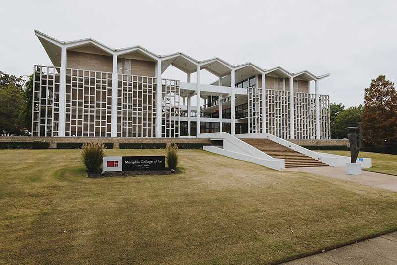 <span><strong>The 74,6780-square-foot Rust Hall will become vacant after May 2020 when the Memphis College of Art closes.</strong> (Houston Cofield/Daily Memphian file)</span>