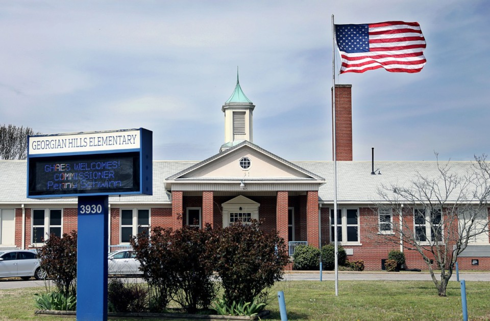 <strong>Georgian Hills is one of the elementary schools found in Shelby County.</strong> (Patrick Lantrip/Daily Memphian file)