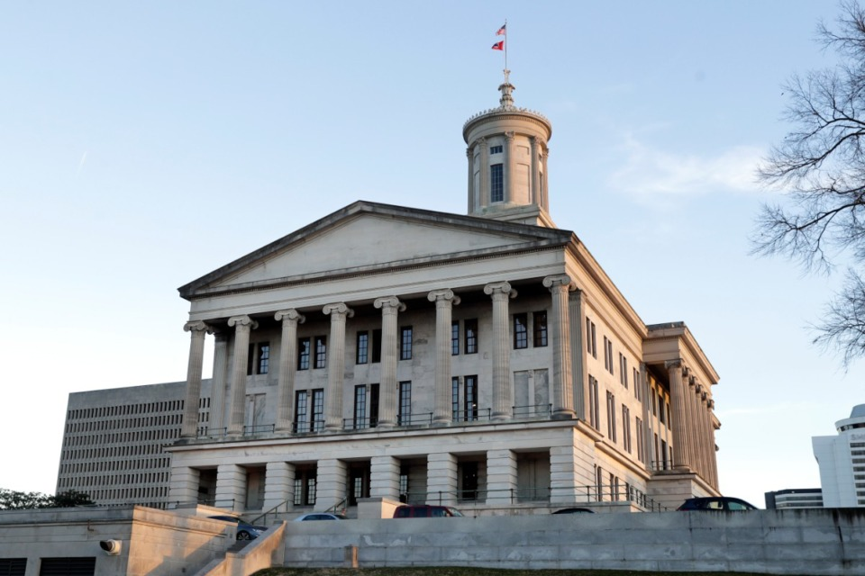 <strong>This Jan. 8, 2020, photo shows the Tennessee State Capitol in Nashville, Tenn.</strong> (AP Photo/Mark Humphrey)