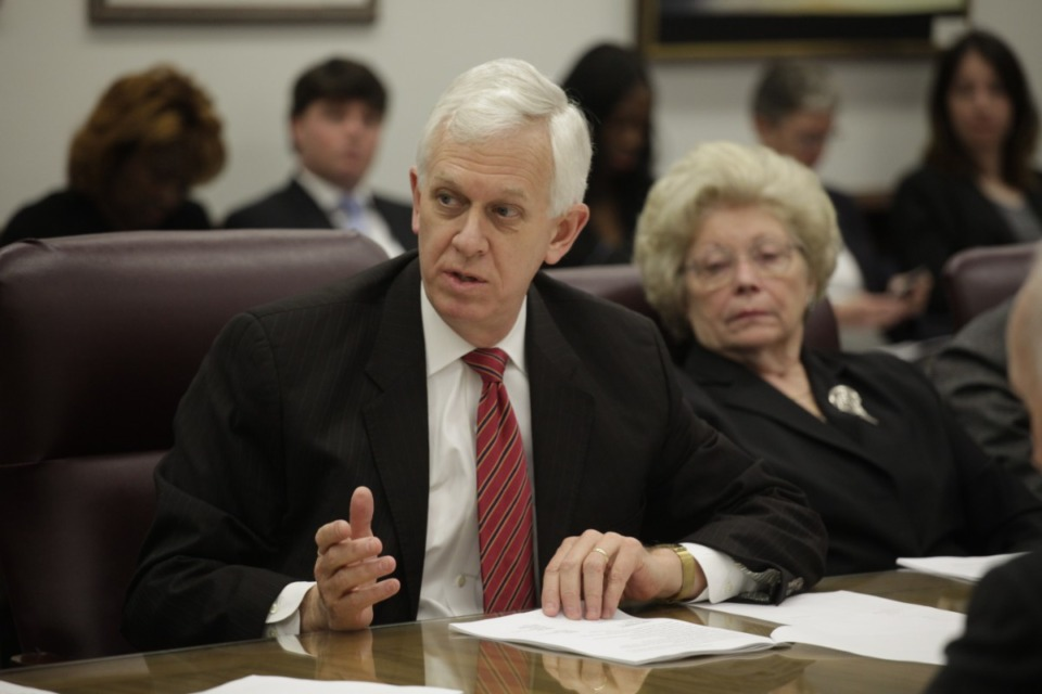 <span><strong>Bill Gibbons (in a file photo), a former district attorney general and Department of Safety and Homeland Security commissioner, pointed out Memphis has ranked second and third in the nation for violent crime in recent years and last year alone more than 9,300 offenses involving guns were committed in the city.</strong> (</span>Lance Murphey/Daily Memphian file)