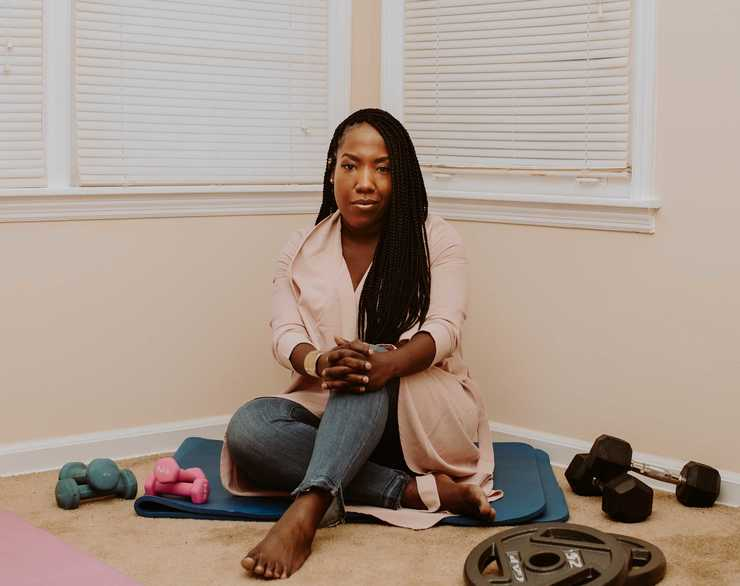 "<strong>Munirah Safiyah Jones is the creator of the video series ""Junt Land."" The web series finds humor in contemporary romantic relationships, and some of her videos have racked up more than a million views in a day.</strong> (Houston Cofield/Daily Memphian)"