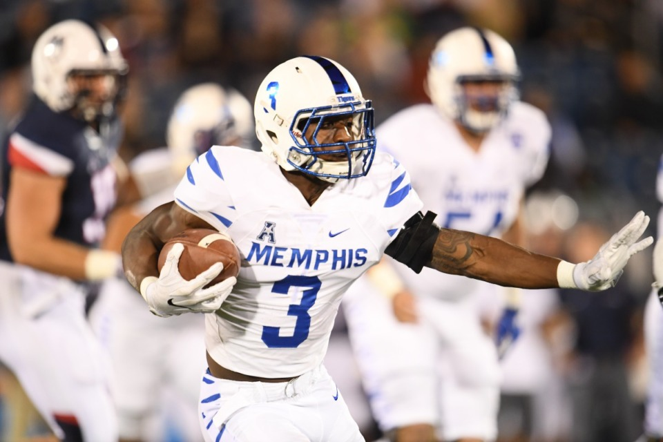 <strong>Former University of Memphis and current Chicago Bear standout Anthony Miller is among players named to the AutoZone Liberty Bowl's all-decade team.</strong> (Daily Memphian file)