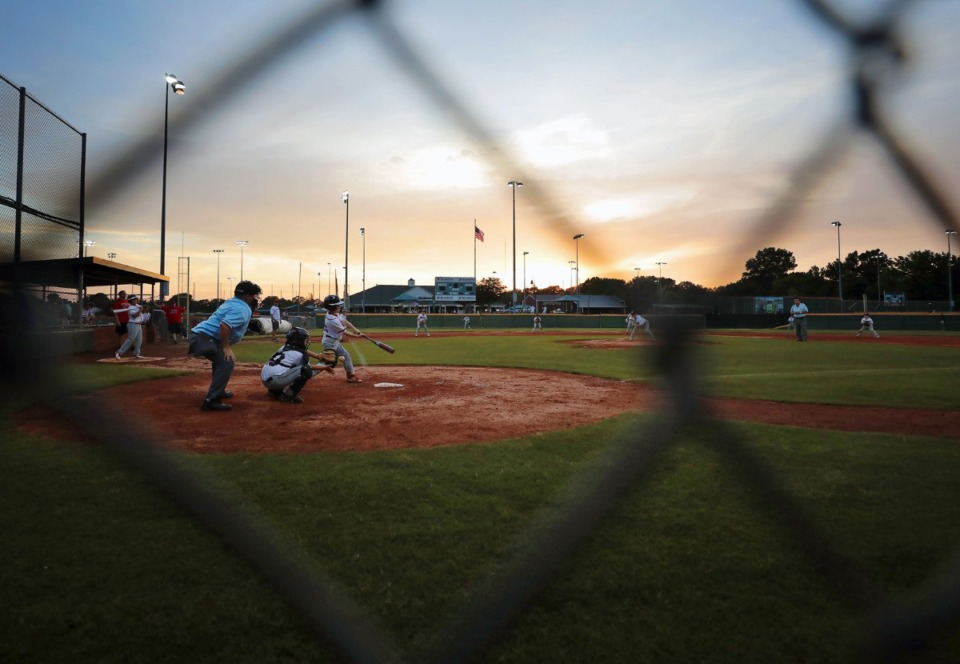 <strong>The Collierville Dragons played a little league tournament game against the Arlington Arsenal on May 22, at&nbsp;</strong><span><strong>GameDay Baseball in Cordova.</strong>&nbsp;</span>(Patrick Lantrip/Daily Memphian)