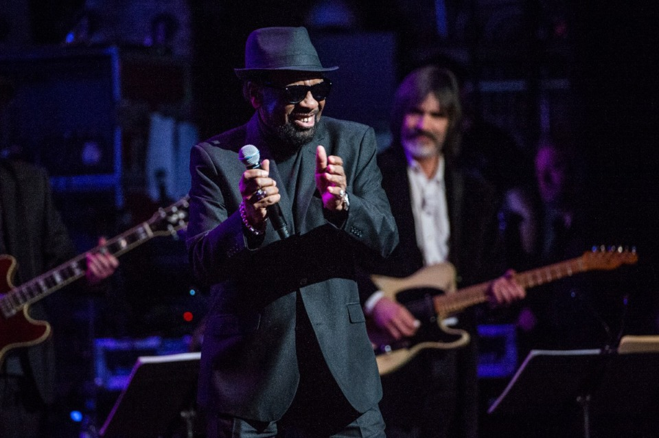 <strong>William Bell performs at Love Rocks NYC! at the Beacon Theatre on Thursday, March 9, 2017 in New York. Bell is a&nbsp;winner of a National Endowment for the Arts&rsquo; annual National Heritage Fellowship.</strong>&nbsp;(Amy Harris/Invision/AP)