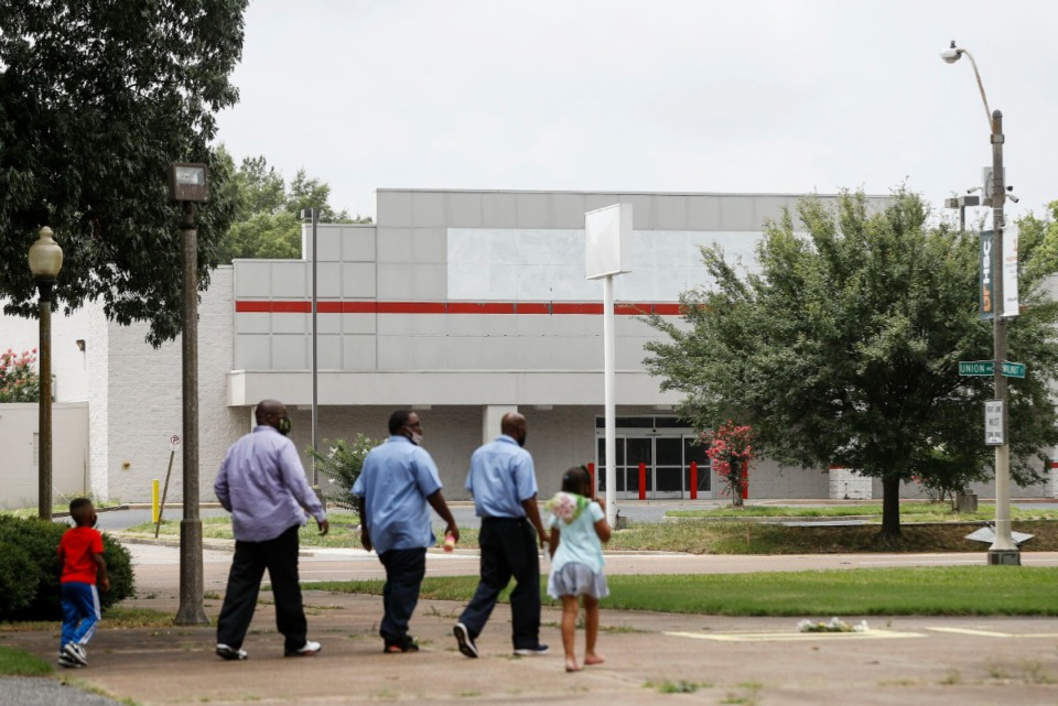 <strong>Southwest Tennessee Community College plans to expand its Downtown campus into the&nbsp; now closed Office Depot property at 785 Union, across from Health Sciences Park.</strong> (Mark Weber/Daily Memphian)