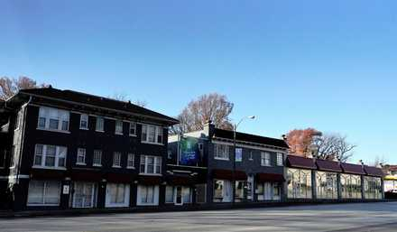 <strong>A developer proposes to demolish these 98- and 89-year-old buildings and build a 120 units of apartments with parking on the ground floor.</strong> (Tom Bailey/Daily Memphian)