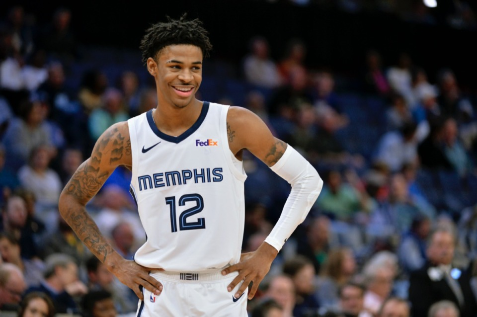 <strong>Though the Orlando bubble is far from the ideal situation for the NBA players staying, playing and working there, Memphis Grizzlies guard Ja Morant (12), pictured in this file photo, is taking it all in stride. &ldquo;I&rsquo;m doing fine,&rdquo; Morant said. &ldquo;My room is fine. The food is fine. I&rsquo;m not a silver spoon guy.&rdquo;</strong>&nbsp;(AP Photo/Brandon Dill)
