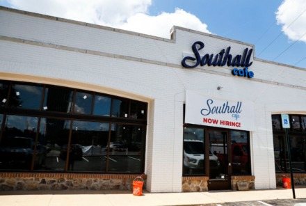 <strong>Southall Cafe will soon open in the old Tobacco Corner building on Mendenhall.</strong> (Mark Weber/Daily Memphian)