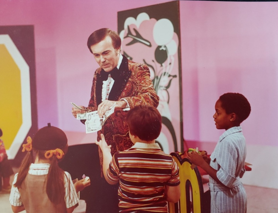 <strong>Dick Williams and his wife Virginia produced the &ldquo;Magicland&rdquo; TV show&nbsp; from 1966 until his retirement in 1989. Performed for an audience of 40 to 50 children &ndash; often Girl Scouts or Boy Scouts &ndash; the show set the Guinness World Record as the world&rsquo;s longest continuously running TV magic show.</strong> (Photo courtesy of the Williams family)