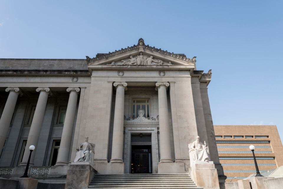 <strong>Shelby County voters will decide whether Republican Paul Boyd or Democrat Joe Brown will lead the General Sessions Court Clerk&rsquo;s Office, which is in the courthouse at 140 Adams Ave.</strong> (Daily Memphian file)