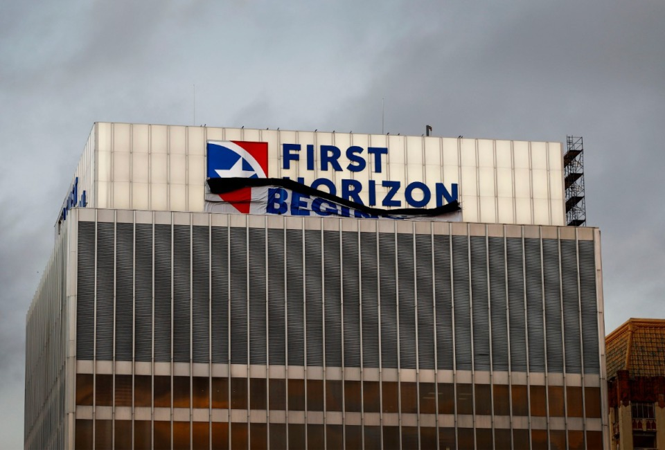 <strong>First Horizon National Corp. missed on estimated earnings by a penny but beat on revenue expectations in the second quarter, increasing its loan loss provision substantially given the economic headwinds caused by the COVID-19 pandemic.</strong> (Mark Weber/Daily Memphian)