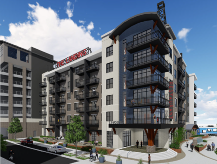 <strong>The Landing Residences at One Beale will have 232 apartments and 23,074 square feet of retail and offices.</strong> (Carlisle Corp.)