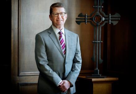 <strong>Christian Brothers University President Jack Shannon</strong> (Mark Weber/Daily Memphian)