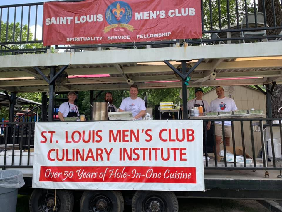 <strong>The Mens&rsquo;s Club at St. Louis Church puts on the annual Hole in One; this year, it&rsquo;s drive-thru food only and called the Hole in None.</strong> (Photo courtesy Wers Kraker)