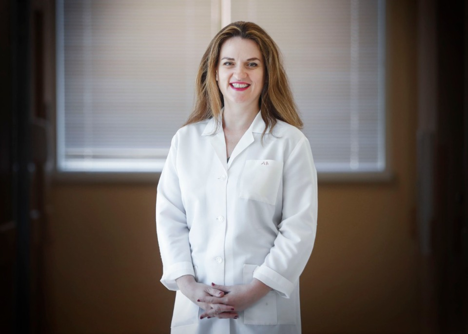 <strong>University of Tennessee Health Science Center researcher Anna Bukiya has received $2.4 million grant, along with colleague Dr. Alex Dopico, to study the connection between cholesterol and dementia.</strong> (Mark Weber/Daily Memphian)