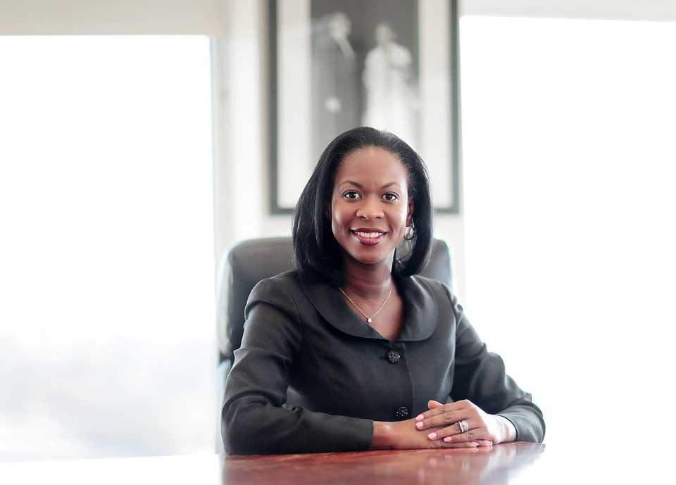 <strong>Shelby County's new Chief Administrative Officer Patrice Thomas was Mayor Lee Harris' first major appointment as the new mayor sets up his administrative team.</strong> (Jim Weber/Daily Memphian)