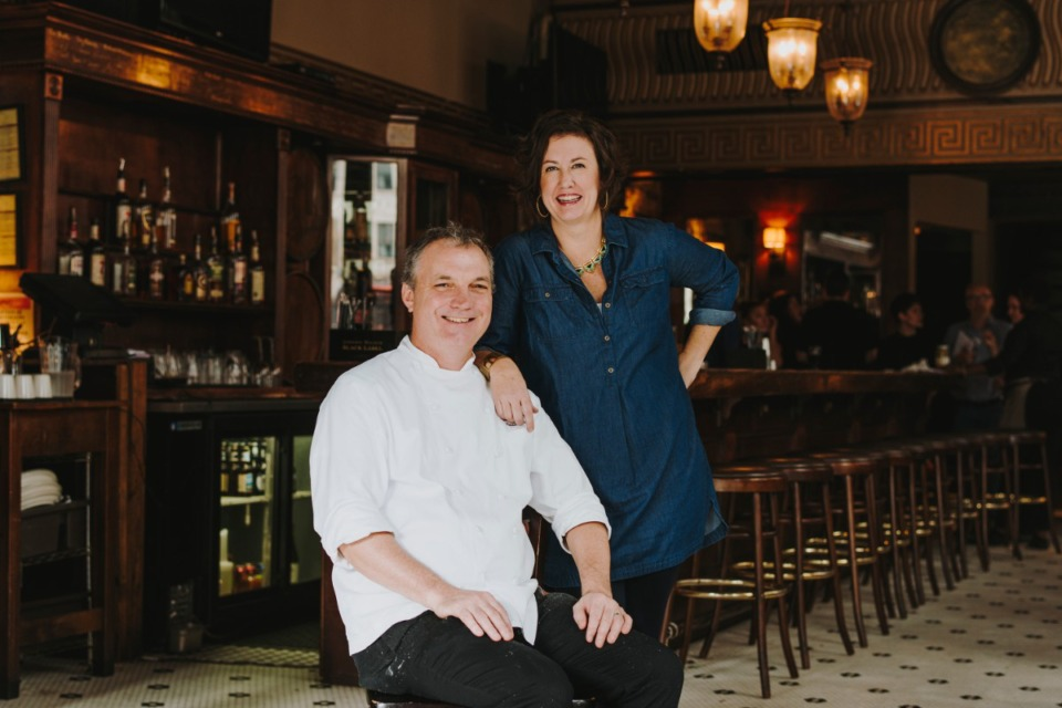 <strong>Patrick and Deni Reilly, seen in The Majestic Grille in 2017, are closing Cocozza American Italian for the week due to COVID-19.</strong> (Daily Memphian file)