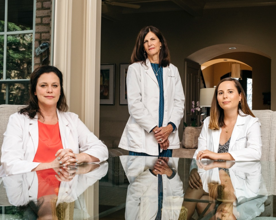 <strong>(From left) Alison Berger, Cindy Katz and Victoria Mackay are staff of the new Midsouth Telemed.</strong>&nbsp;(Houston Cofield/Special To The Daily Memphian)