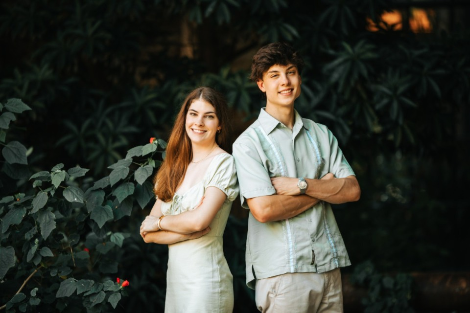 <strong>Mary Claire and Cooper Mock&nbsp;</strong>(Courtesy of Angie Mock)