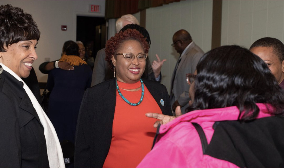 <strong>Marquita Bradshaw, an environmental activist who grew up in the shadow of the Defense Depot in Memphis, reported spending only $5,778 in the primary race.</strong> (Courtesy Marquita Bradshaw&rsquo;s campaign staff)