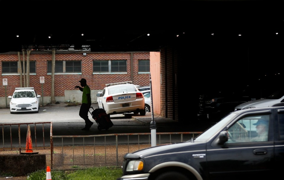 <strong>The City is making plans to issue a request for proposals from developers to own 4.5 acres and 100 feet of frontage along Union Avenue, where the MPD Traffic Bureau property will be sold</strong>. (Mark Weber/Daily Memphian)