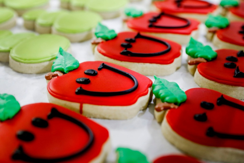 <strong>The Whimsy Cookie Company is known for their secret sugar cookie recipe.</strong> (Mark Weber/Daily Memphian)