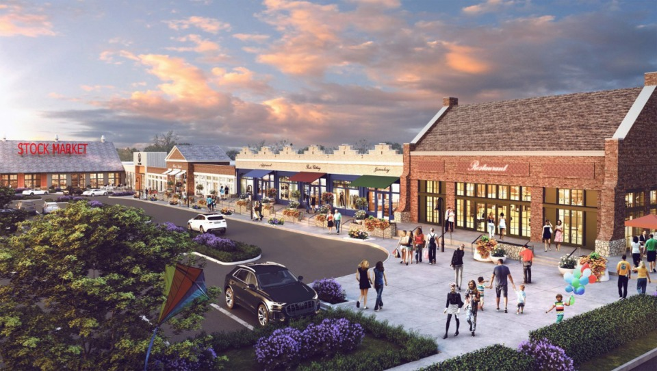 <strong>The Lakeland Board of Commissioners voted in favor of a change to the proposal for the Lake District mixed-use community last December.</strong>&nbsp;(Submitted rendering)