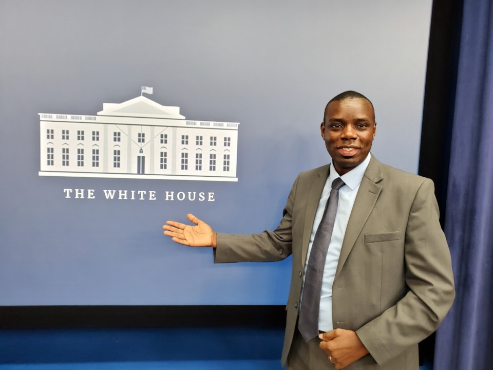 <strong>Emmanuel&nbsp;Tuombe, founder of ABES Engineering in Memphis, was invited to the &ldquo;Game Changers at the White House&rsquo;s Entrepreneurs and Innovators Summit&rdquo; in February</strong>. (Submitted)