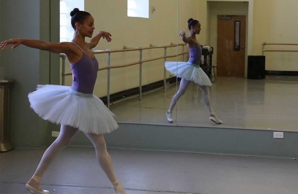 <strong>Myrna Kamara, the Snow Queen in New Ballet Ensemble &amp; School&rsquo;s 2018 performances of &ldquo;Nut ReMix,&rdquo; which runs Friday through Sunday at the Cannon Center, comes to Memphis via Switzerland and Italy, where she taught NBE students in a masterclass this summer.</strong> (Patrick Lantrip/Daily Memphian)