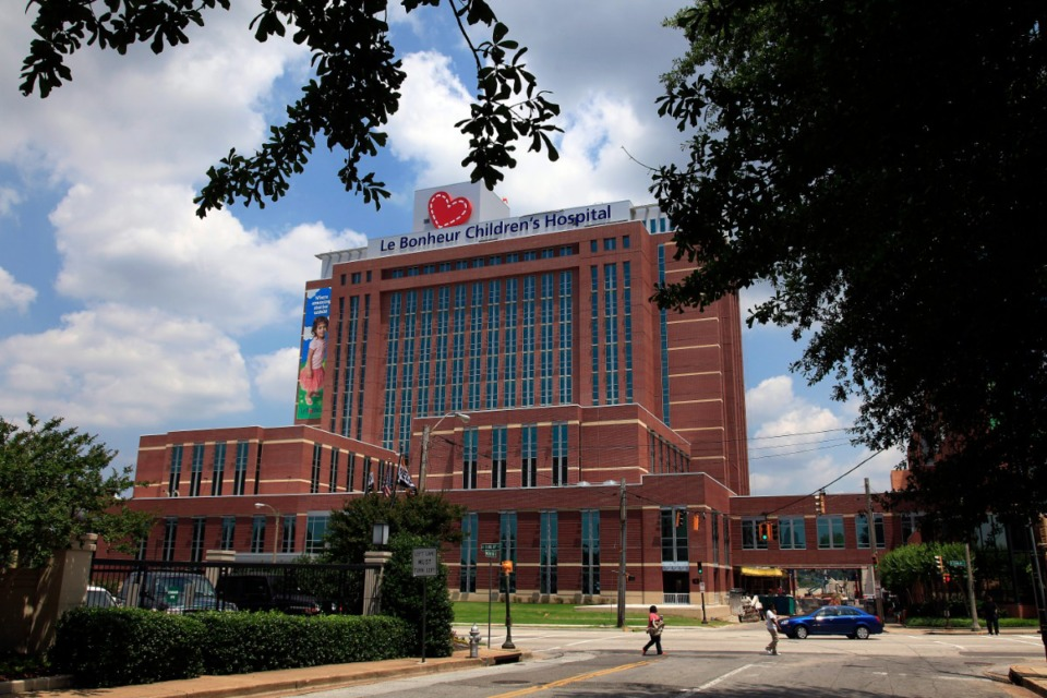 <strong>Le Bonheur Children's Hospital, seen here in 2010, is one of the country&rsquo;s premier children&rsquo;s hospitals. Le Bonheur&rsquo;s Dr. Jason Johnson answers some questions about myocarditis and sports.</strong> (Lance Murphey/Daily Memphian file)