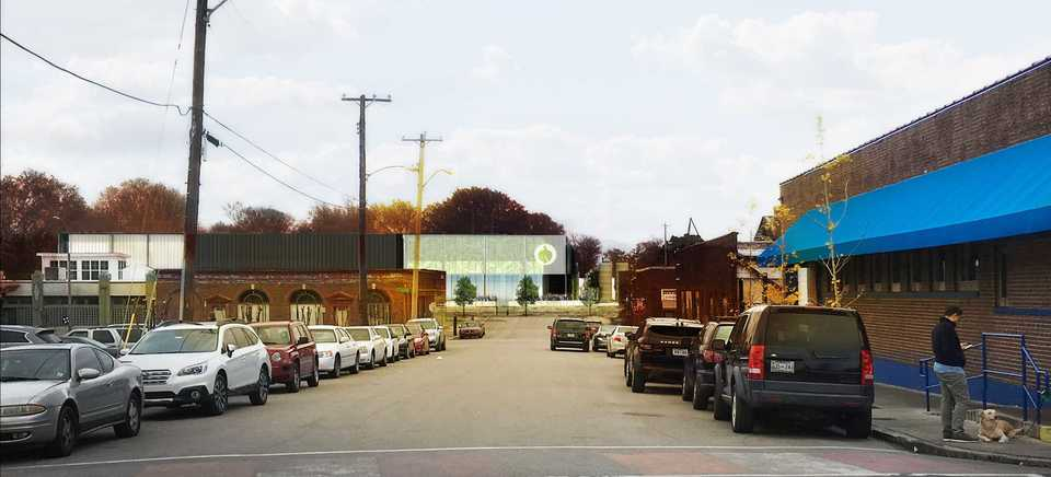 <strong>A rendering by Looney Ricks Kiss depicts Wiseacre Brewing Co.'s planned brewery and taproom at B.B. King Boulevard and Vance Avenue. The craft brewery was awarded a 15-year tax abatement for the 43,000-square-foot project Tuesday.&nbsp;</strong>(Courtesy of LRK)