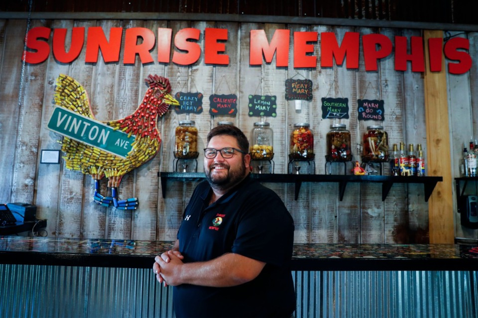 <strong>In 2017, Ryan Trimm teamed up with Roger Sapp and Craig Blondis to open Across the Board Restaurant Group. The group&rsquo;s&nbsp;first venture was Sunrise Memphis, the breakfast-and-lunch place on Jefferson. &ldquo;We&rsquo;re at about 60% of what we were doing before COVID,&rdquo; Trimm said of Sunrise.</strong>&nbsp;(Mark Weber/Daily Memphian)