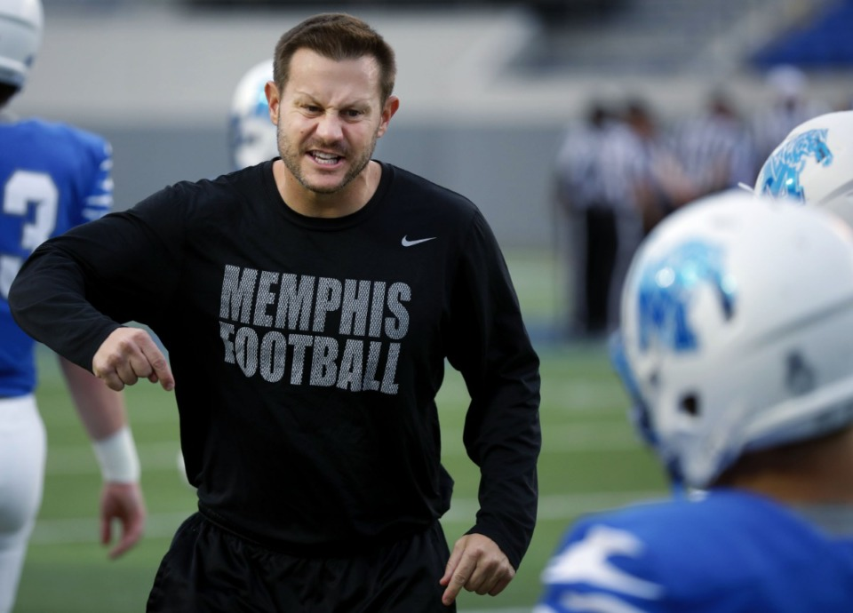 <strong>&ldquo;I met with our leadership committee this morning and I said to them, let&rsquo;s have some open dialogue,&rdquo; said University of Memphis coach Ryan Silverfield, seen here in 2019. &ldquo;It&rsquo;s on me to make sure that stays a part of our program.&rdquo;&nbsp;</strong>(Houston Cofield/Daily Memphian)