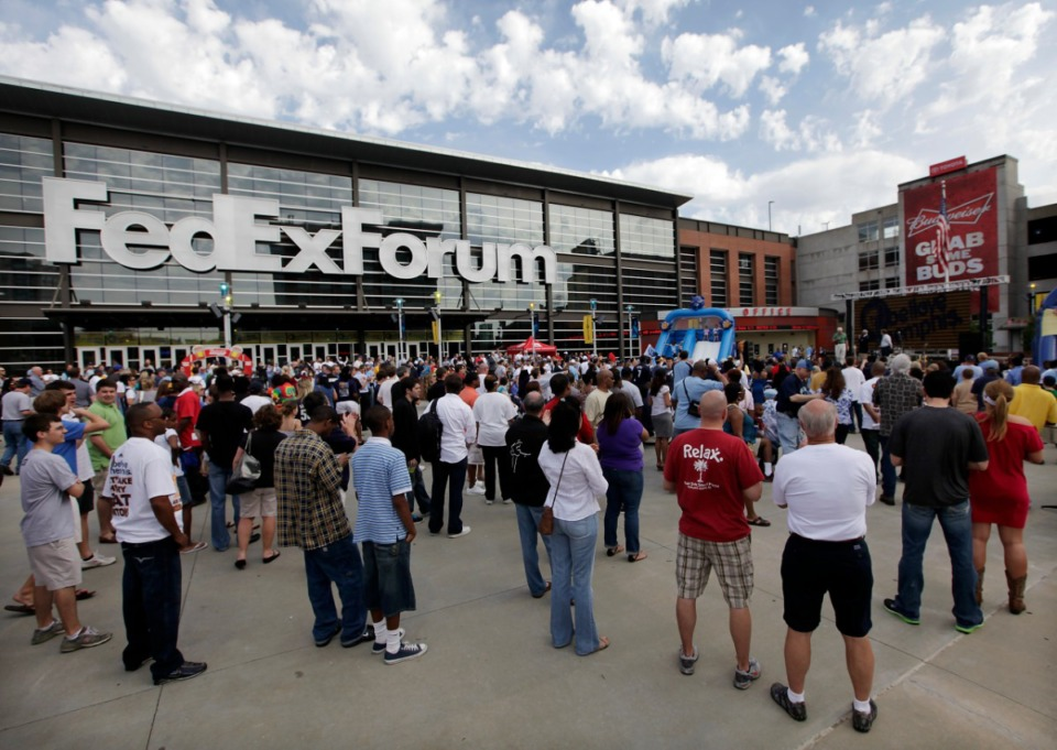 <strong>Shelby County Elections Administrator Linda Phillips says FedExForum, seen here in 2011, can&rsquo;t be used as a polling location without a change to state law.</strong> (Lance Murphey/Daily Memphian)