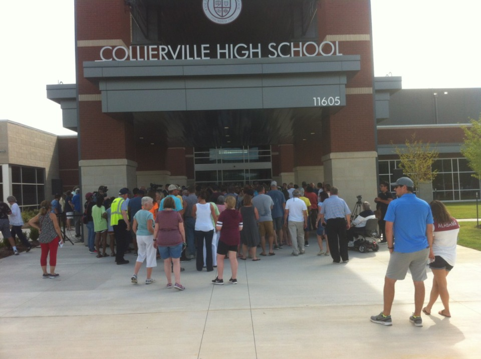 <strong>Collierville High School (in a pre-coronavirus file photo), will switch to remote learning for the next two weeks.</strong> (Daily Memphian)