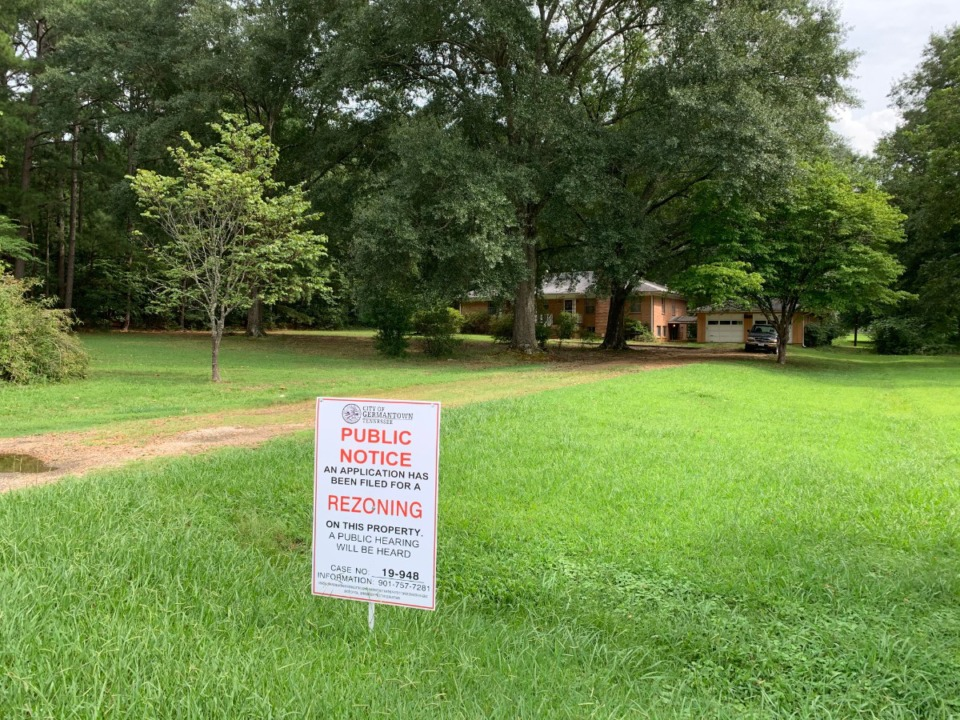 <strong>Planning Commissioners endorsed medium density residential zoning of 7 acres on Tuesday. Developers propose a 7 lot subdivision on the property.</strong> (Abigail Warren/Daily Memphian)