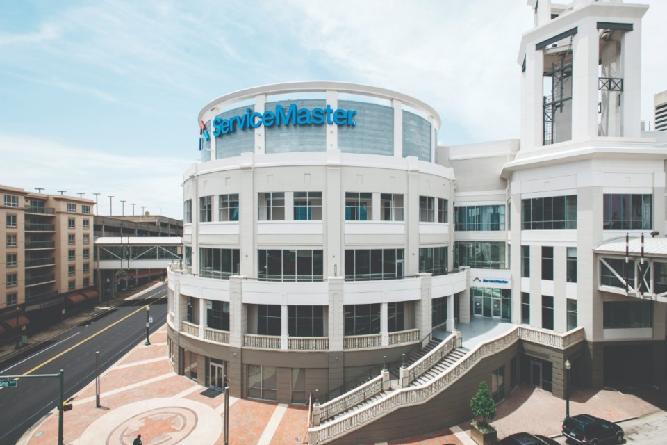 <strong>ServiceMaster's corporate headquarters in Downtown Memphis</strong> (Daily Memphian file)