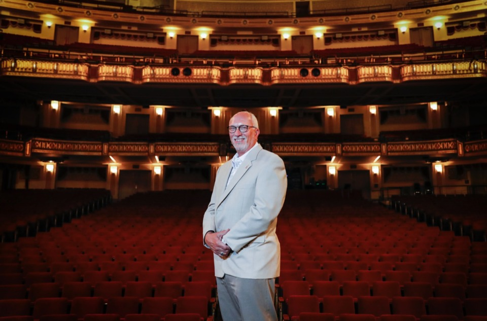 <strong>Orpheum President and CEO Brett Batterson (shown in the theater&nbsp; on Aug. 25) said, &ldquo;It is not a question of&nbsp;if&nbsp;we will have Broadway again; it is simply a matter of&nbsp;when.&rdquo;</strong>&nbsp;(Mark Weber/Daily Memphian)