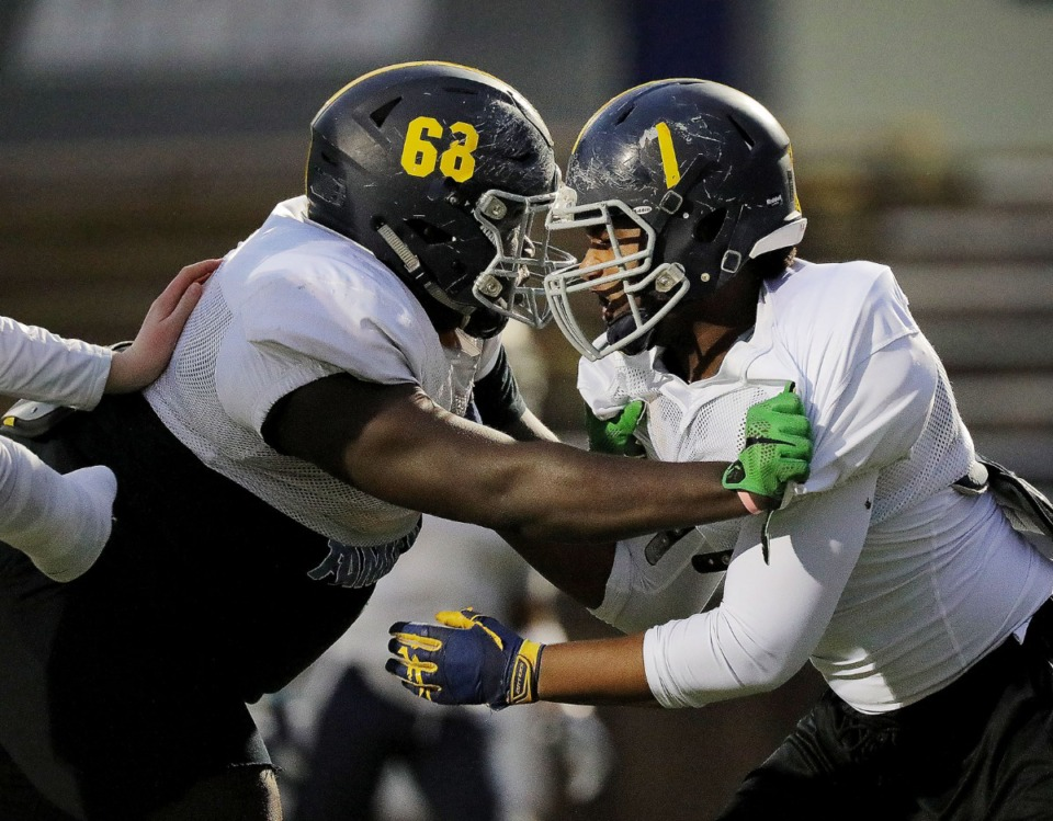 <strong>Lausanne football players, seen here at a November 2019 practice, are being required to stay home until Sept. 22 due to COVID. in November 2019. &ldquo;It&rsquo;s almost like mashing a whole lot of people together during a pandemic ... isn&rsquo;t really the best idea,&rdquo; Geoff Calkins said.&nbsp;</strong>(Patrick Lantrip/Daily Memphian)