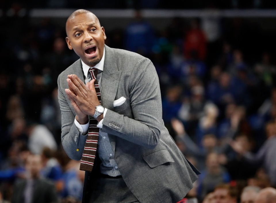 <strong>University of Memphis head basketball coach Penny Hardaway (in a file photo)&nbsp;continues to fill out his class of 2021 following the commitment of four-star&nbsp;Josh Minott. The class is currently ranked No. 50 in the nation and No. 2 in the American Athletic Conference. </strong>(Mark Weber/Daily Memphian)