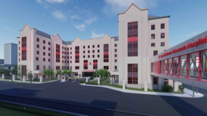 <strong>The Domino&rsquo;s Village will be a housing facility on the St. Jude Children&rsquo;s Research Hospital campus.</strong> (Submitted)