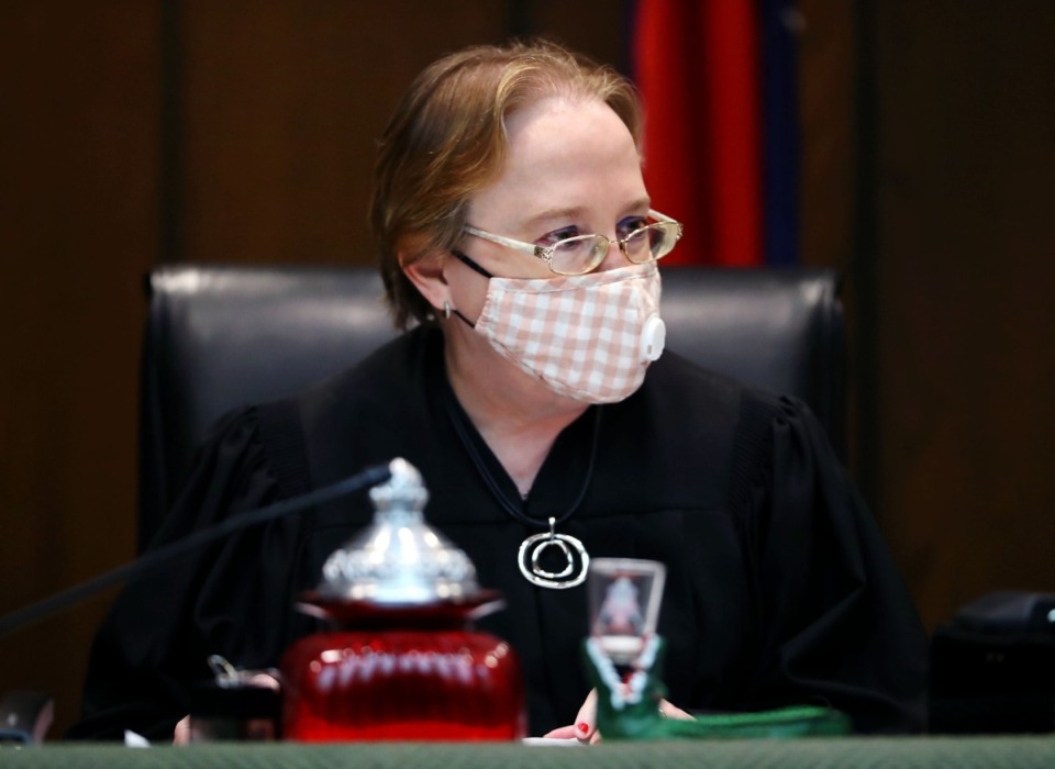 <strong>Shelby County Criminal Court Judge Paula Skahan on Wednesday, Sept. 16, granted Pervis Payne's request to have DNA testing done on previously untested crime scene evidence. Payne was convicted in the 1987 murders of a Millington woman and her young daughter.</strong> (Patrick Lantrip/Daily Memphian)
