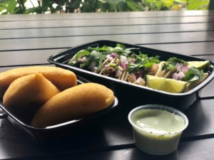<strong>Empanadas and tacos from Global Caf&eacute; make a hearty lunch for two.</strong> (Jennifer Biggs: Daily Memphian)